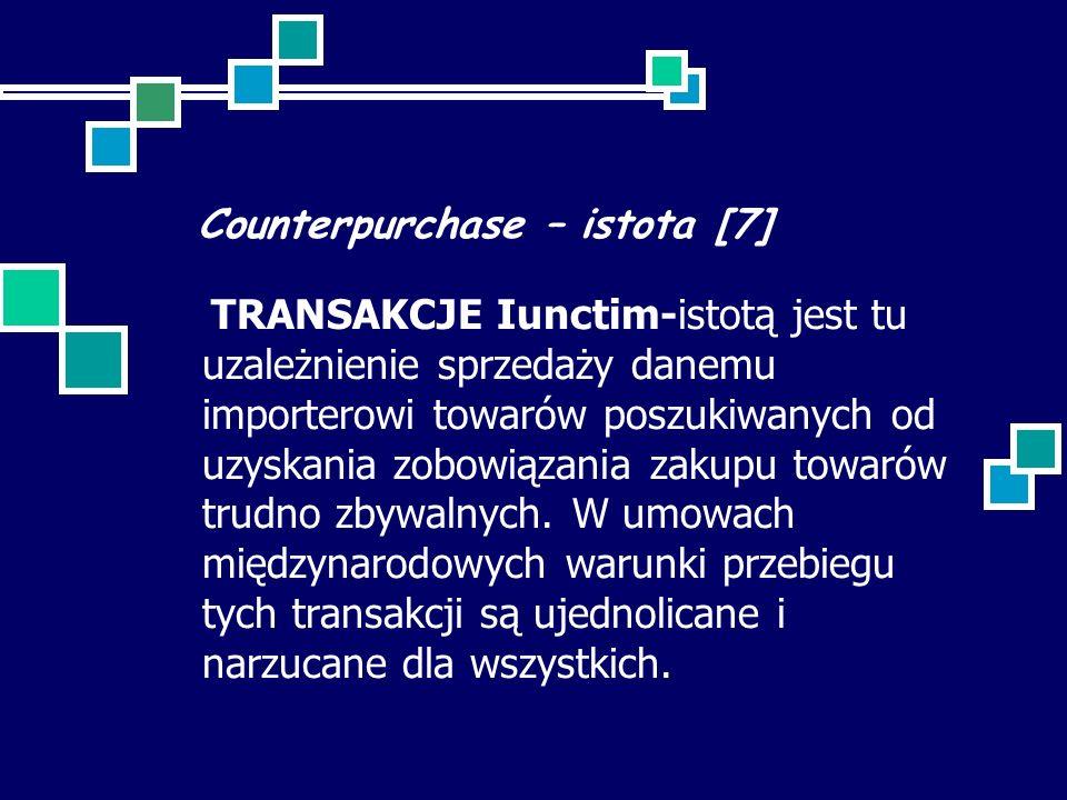 Counterpurchase – istota [7]